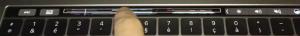 La Touchbar sous Logic Pro X 10.3