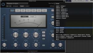 L'entrée sidechain instrument sous Logic Pro X 10.3
