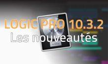 Logic Pro X 10.3.2 – Les Nouveautés