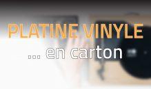 Spinbox : une platine vinyle… en carton