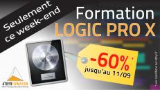 Promo sur la formation Logic Pro X : -60% !