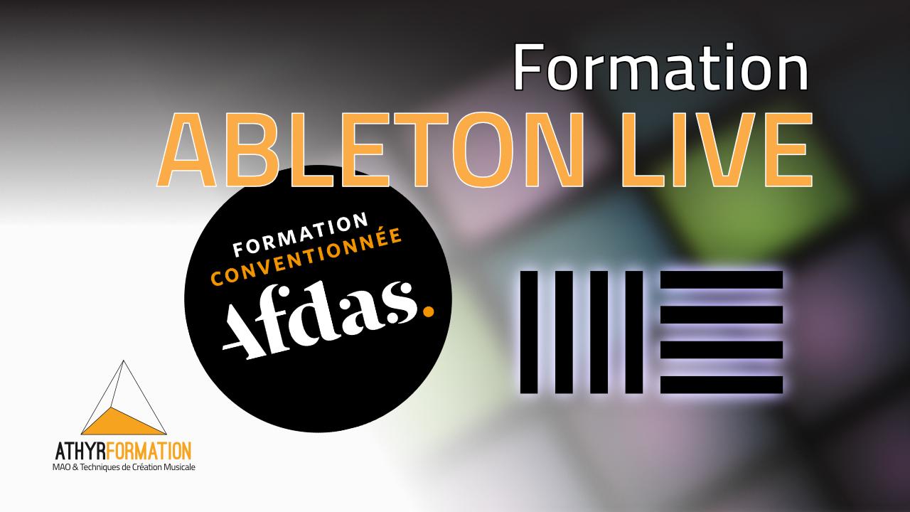 Formation Ableton Live AFDAS